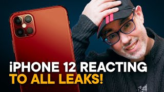 iPhone 12 FINAL Lęak Bombs (Reacting to ALL Rumors!)