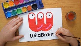 How To Draw The WildBrain Logo