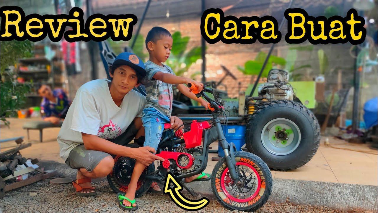 Review Cara Buat Sepeda Mesin Chainsaw Potong Rumput Youtube