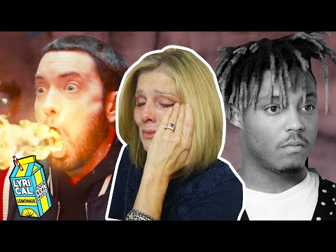 Mom REACTS to Eminem – Godzilla ft. Juice WRLD (she cries)
