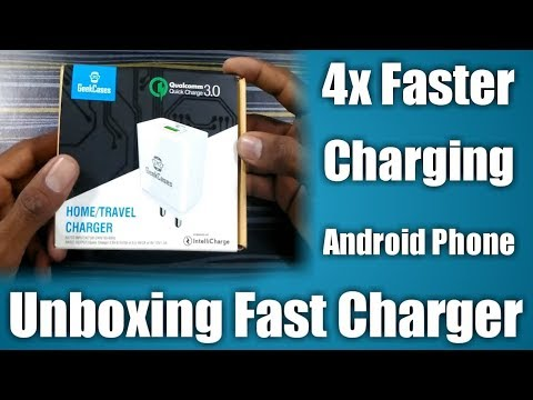 Unboxing GeekCases Qualcomm Quick Charge 3.0 Fast Charger Review & Futures