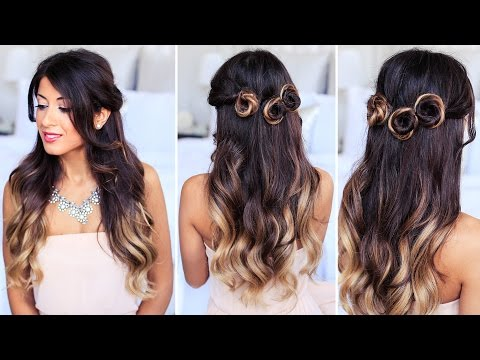 Romantic Prom Hairstyle | Collab with Simply Sona