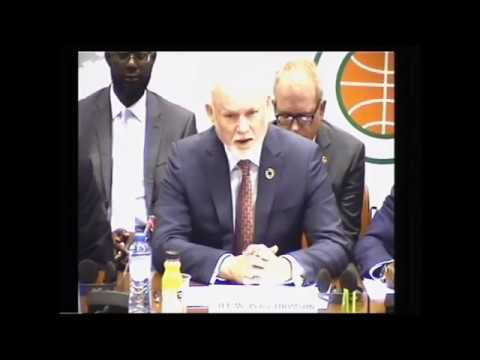Opening ceremony the 105th session of the ACP Council of Ministers, 3 May 2017