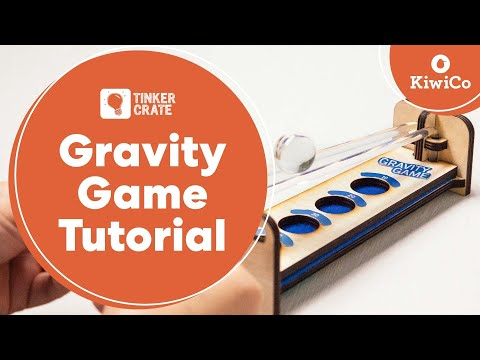Play the Gravity Game - Tinker Crate Project Instructions