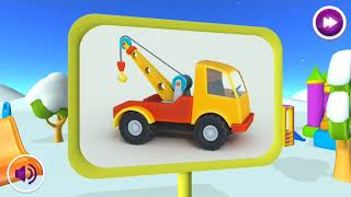 Leo the Truck Vehicles Construction Application for Children FR Android screenshot 2