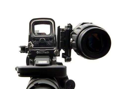 Airsoft Eotech Xps3 2 E Eotech 3x Magnifier Pt Br Youtube
