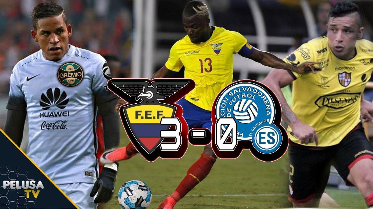 Эквадор - Сальвадор 3:0 видео