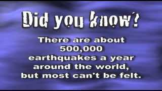 Earthquakes Song - Science Song