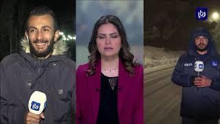 الثلوج تزور الرويشد والطفيلة (21/1/2020)