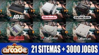 Maximus Arcade - 21 Sistemas + 3000 jogos