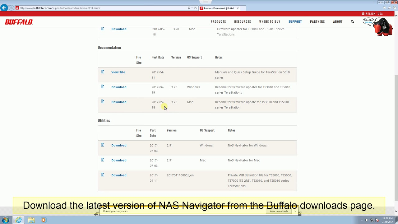 How-to: Installing NAS Navigator for Windows