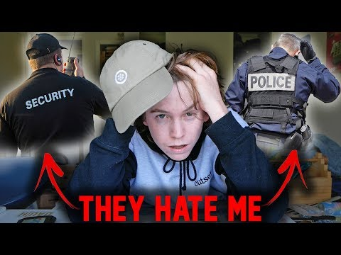 MY TOP 5 WORST EXPERIENCES WITH SECURITY/COPS!