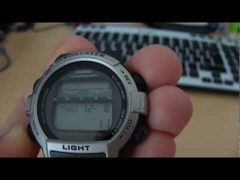 Casio Forester FT 200 Fish in Time YouTube