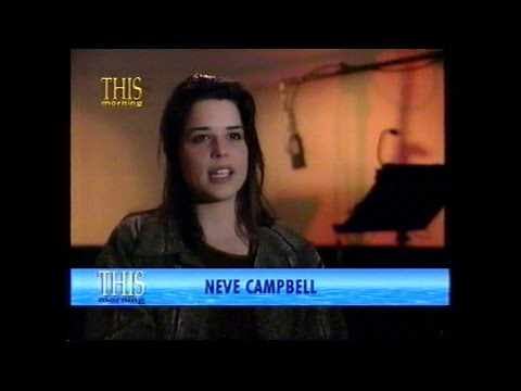Neve Campbell - Interview Clip 1998