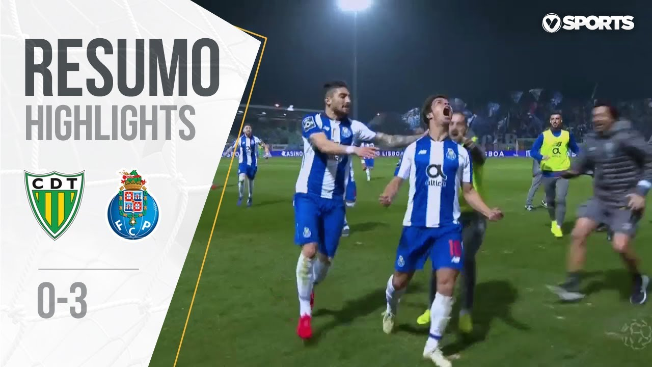 Highlights | Resumo: Tondela 0-3 FC Porto (Liga 18/19 #23)