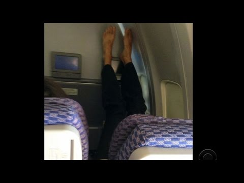 Knee Defender device sparks row as airline seats shrink comfort