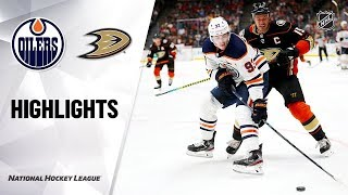 Анахайм - Эдмонтон / NHL Highlights | Oilers @ Ducks 11/10/19