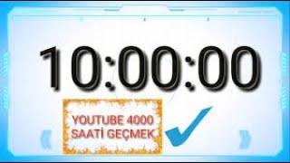 10 Saatlik Video Geri Sayım
