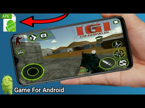 [85MB] How To Download Real Project IGI For Android Devices | IGI 1 In Mobile Only 85 MB | IGI APK