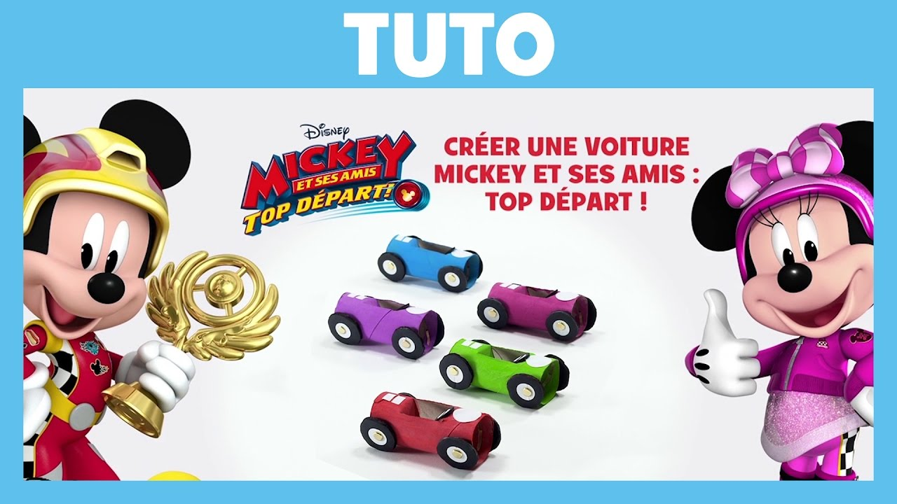 Mickey et ses amis top d part tuto cr er une - Amis de mickey ...