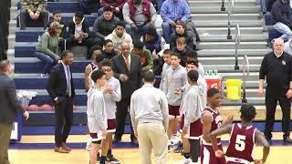 Waterbury Crosby High School vs Sacred Heart High School - Jan 25, 2019