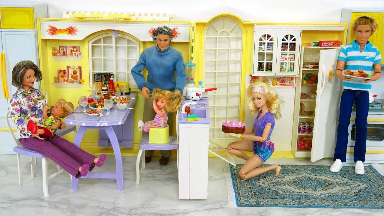 Toy Kitchen Sets Videos