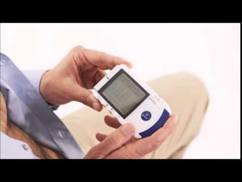Omron Portable Electrocardiogram (ECG) Monitor HCG 801