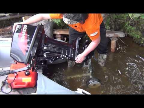 Тележка для перевозки подвесного лодочного мотора - тележка MORLAB