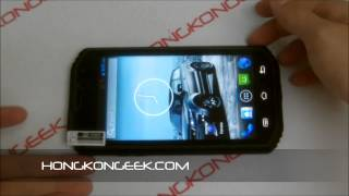 - UNBOXING AND TEST - CHINESE SMARTPHONE HUMMER H8 ANDROID 4.4 IP68