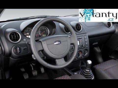 hogyan kell szétszerelni a kormánykereket / légzsákot Ford Fiesta - Fusion - Connect - Courier