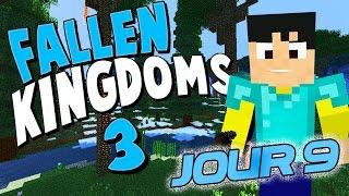 Fallen Kingdoms Avec Mods III : L'arroseur arrosé ! | JOUR 9 - Minecraft FK thumbnail