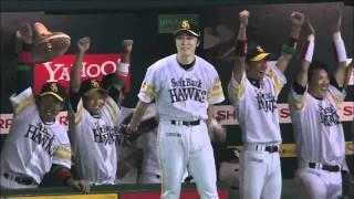 福岡ソフトバンクホークス、CS突破おめでとう!の気持ちを込めて作りま...