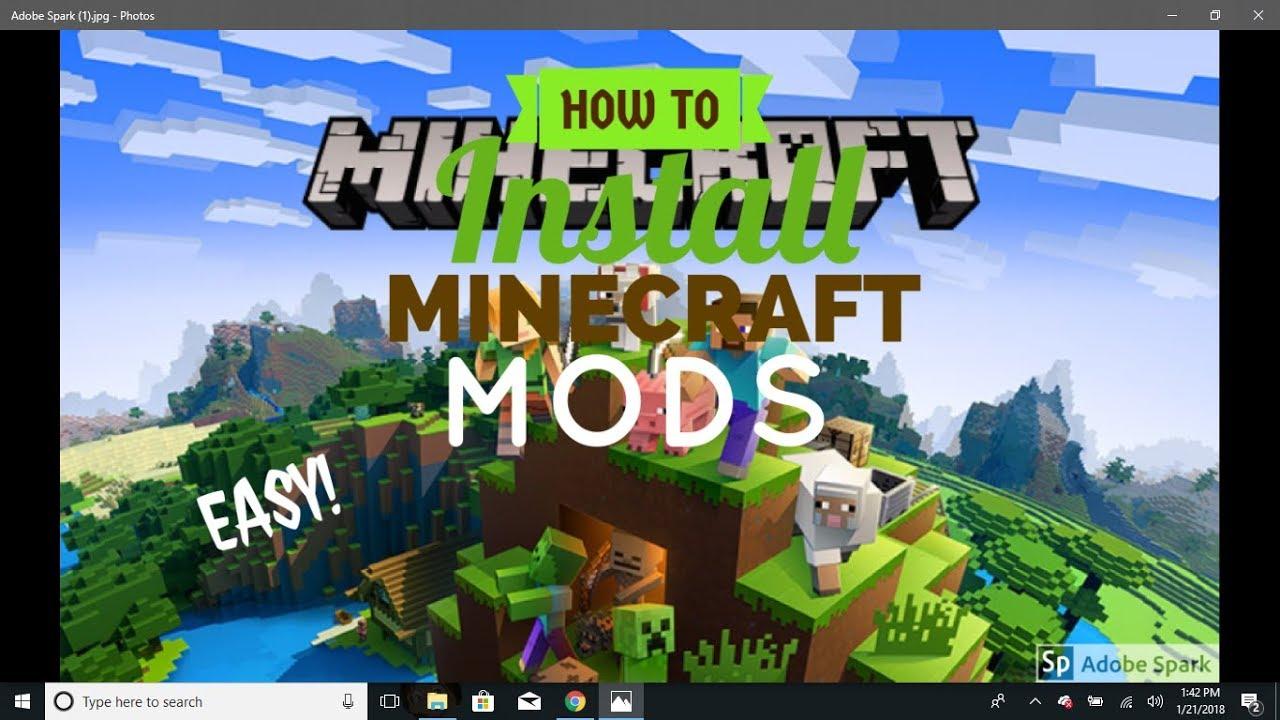 how to install minecraft mods 2018