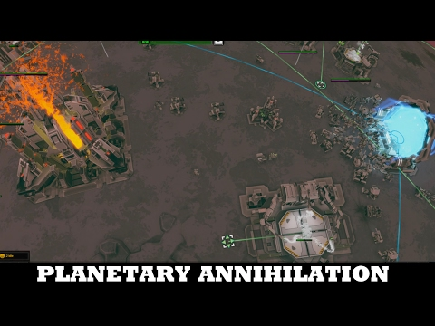 Get out NOW - Planetary Annihilation TITANS