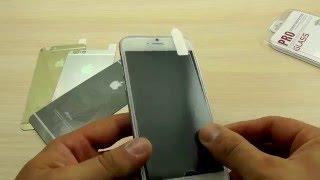 ОБЗОР: Заднее Зеркальное Защитное Стекло (вместо пленки) для iPhone 6 (гравировка)