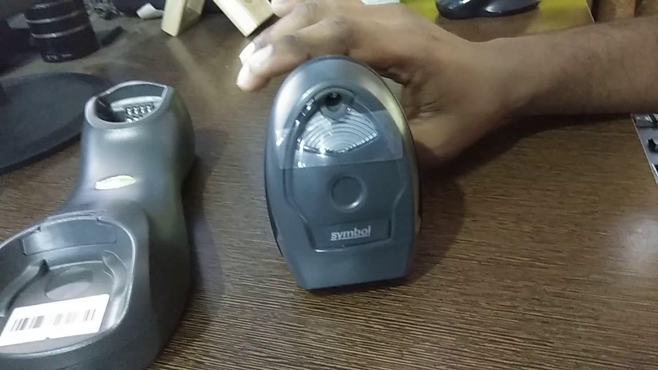 How to use Motorola Zebra Symbol LI4278 Wireless Barcode Scanner