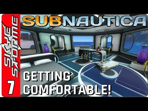 SUBNAUTICA Gameplay - Part 7 ► SHIP UPGRADES AND INTERIOR DECORATION! ◀