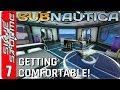 SUBNAUTICA Gameplay - Part 7 ► SHIP UPGRADES AND INTERIOR DECORATION! ◀