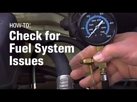fuel system and fuel pump diagnostics - autozone car care