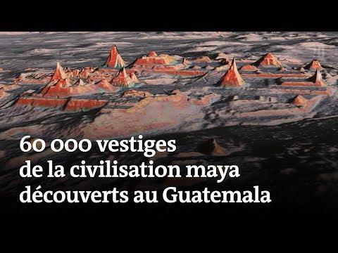 60 000 vestiges de la civilisation maya découverts au Guatemala
