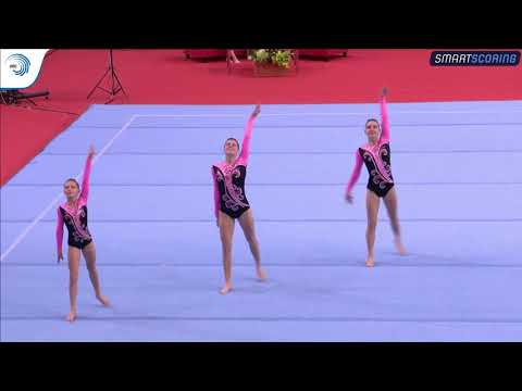 REPLAY: 2017 ACRO EAGC, qualifications 11 - 16 Women's Groups balance and Women's Pairs dynamic