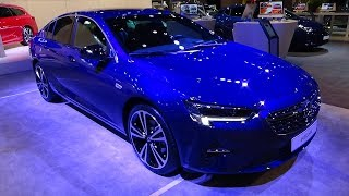 2020 Opel Insignia Grand Sport  2.0 Turbo 200 Business - Exterior + Int. - Auto Show Brussels 2020