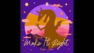 Baixar Make It Right (feat. Lauv) (No Rap Version) (Audio) - BTS