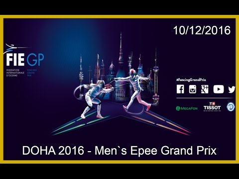 Doha Men`s Epee Grand Prix 2016 - Finals