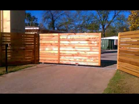 utube how to build wood fence canada