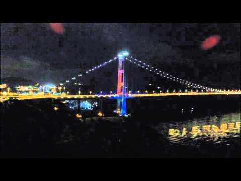 青嶼幹線觀景臺。夜 - YouTube