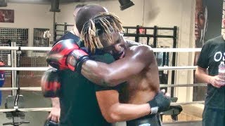 """KSI has leveled up, he is Super Saiyan 3!"" says Faze Sensei after intense sparring session"