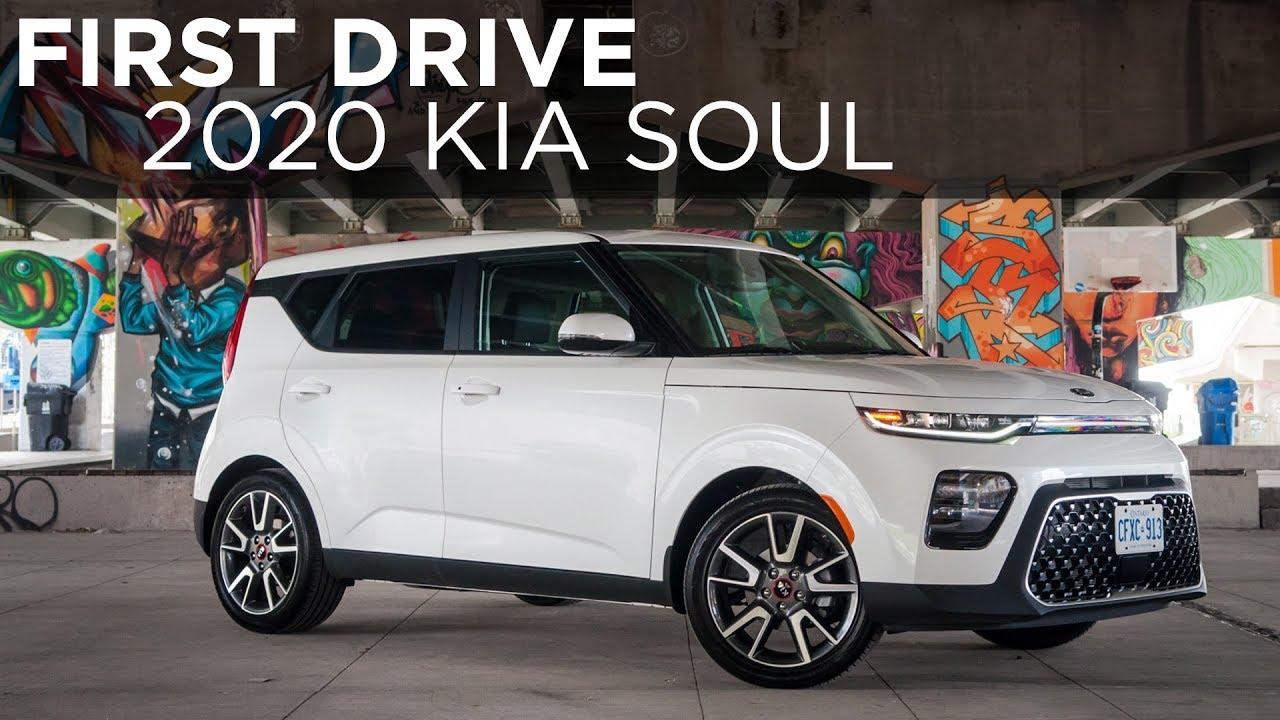 2020 Kia Soul First Drive Driving Ca