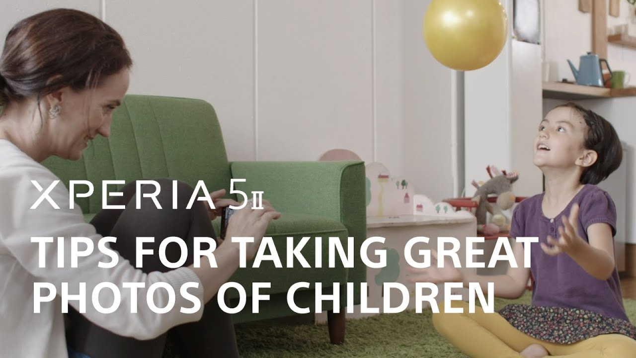Xperia 5 II – Tips for taking great photos of children