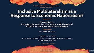 Baixar Marco Buti - Inclusive Multilateralism as a Response to Economic Nationalism?